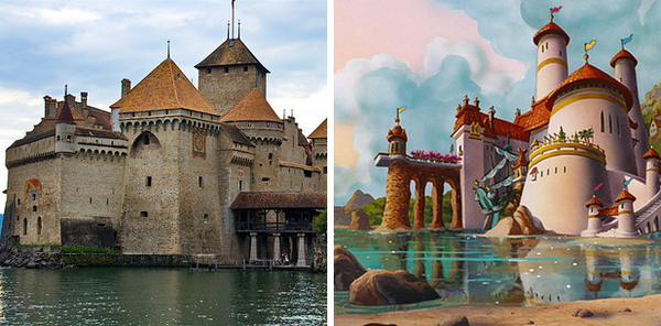 CHILLON CASTLE - PRINCE ERIC
