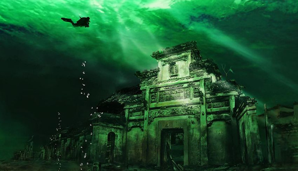 UNDERWATER CITY CHINA