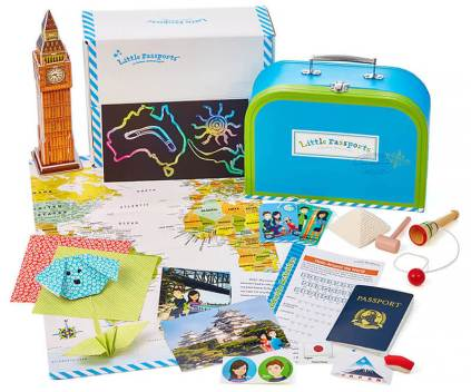 LITTLE PASSPORTS BOX