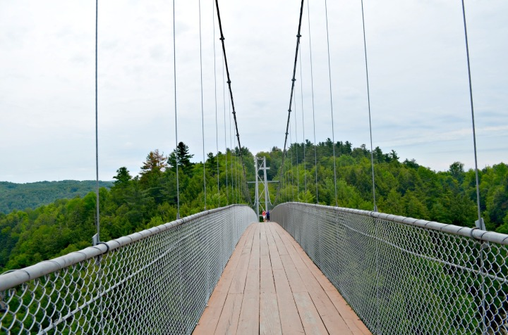 DISCOVER QUEBEC | VISITING NORTH AMERICA'S LONGEST SUSPENDED BRIDGE
