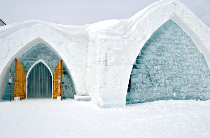 VISITING THE ONLY ICE HOTEL IN NORTH AMERICA