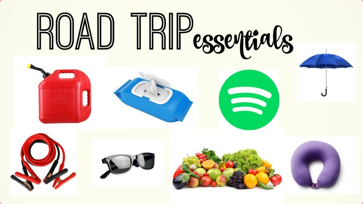 THE ULTIMATE ROAD TRIP PACKING LIST | SUMMEREDITION